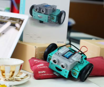 fliprobot professional development course with teachers coding and robot