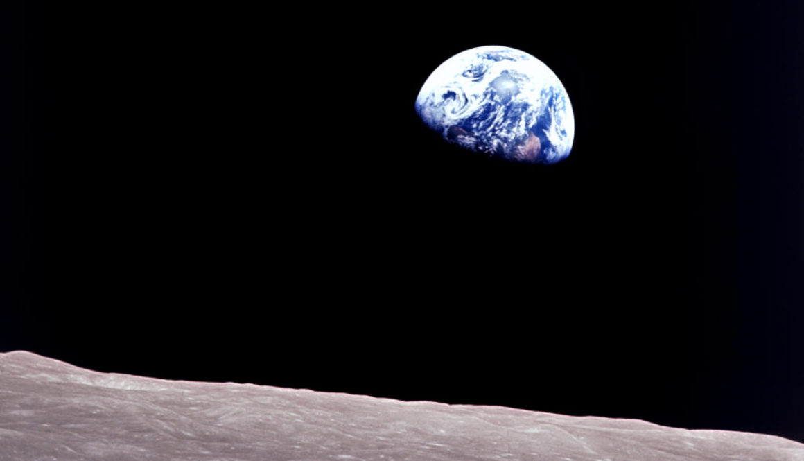 Taken aboard Apollo 8 by Bill Anders